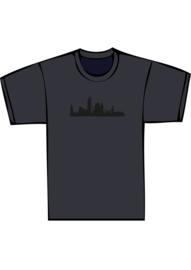 Skyline den haag txt no - zwarte print