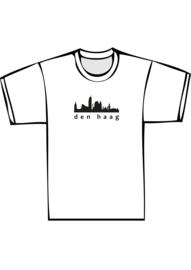 Skyline den haag txt yes - zwarte print
