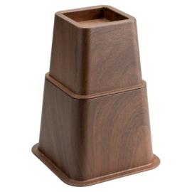 Bedverhoger / meubelverhoger HOUTPRINT. 8, 13 en 21 cm (PER STUK)