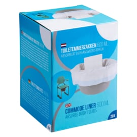 Hygiënische toiletemmer zakken (20 stuks)
