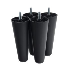 Ronde meubelpootjes 15 cm (per 4) M8