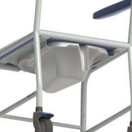 Timo douche-/toiletstoel mobiel
