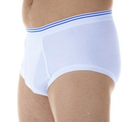 Wasbaar incontinentie ondergoed / onderbroek heren