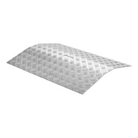 Drempelbrug aluminium (4 t/m 6 cm)