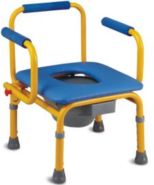 Toiletstoel, postoel voor kinderen. In hoogte verstelbaar