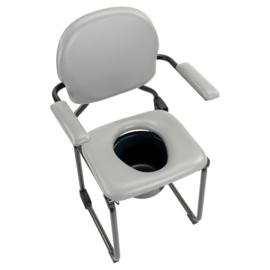 Luxe toiletstoel, po stoel opvouwbaar