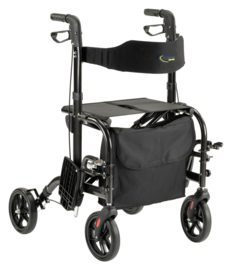 MultiMotion Duo, rollator en rolstoel in 1