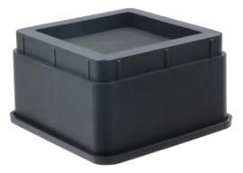 Bedverhogers / meubelverhogers 5 cm (stapelbaar tot 20 cm) Extra sterk 1000 kg