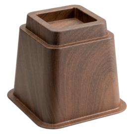 Bedverhoger / meubelverhoger 13 cm HOUTPRINT (PER STUK)