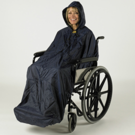 Regenkleding Mac zonder mouwen, ongevoerd