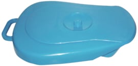 Bedpan / ondersteek kunststof  2,5l (blauw)
