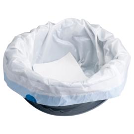 Hygiënische toiletemmer zakken. Voordeelpak (120 stuks)
