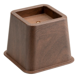 Bedverhoger / meubelverhoger 8 cm HOUTPRINT (PER STUK)