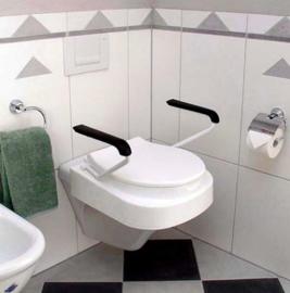 Toiletverhoger met armsteunen