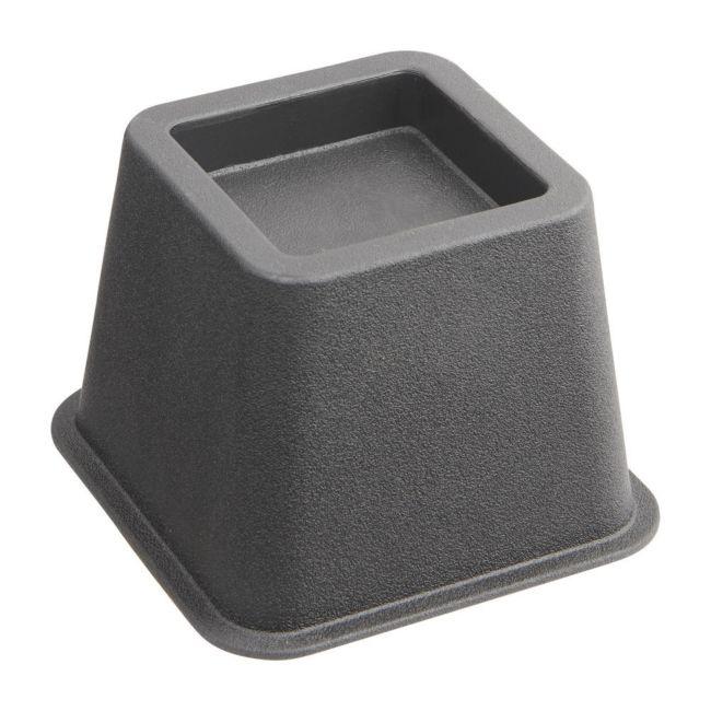 Bedverhoger / meubelverhoger 8 cm ZWART (PER STUK)