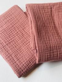 Hydrofiele doek Klei roze