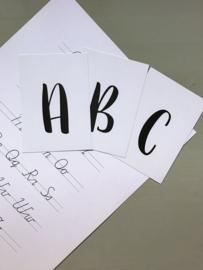 ABC kaartjes A6