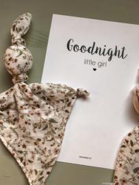 Poster Goodnight Girl