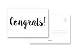 Kaart Congrats!
