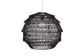 Rattan - Artichoke zwart 60 cm