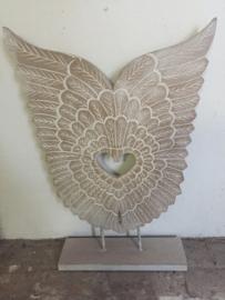 Vleugels op standaard