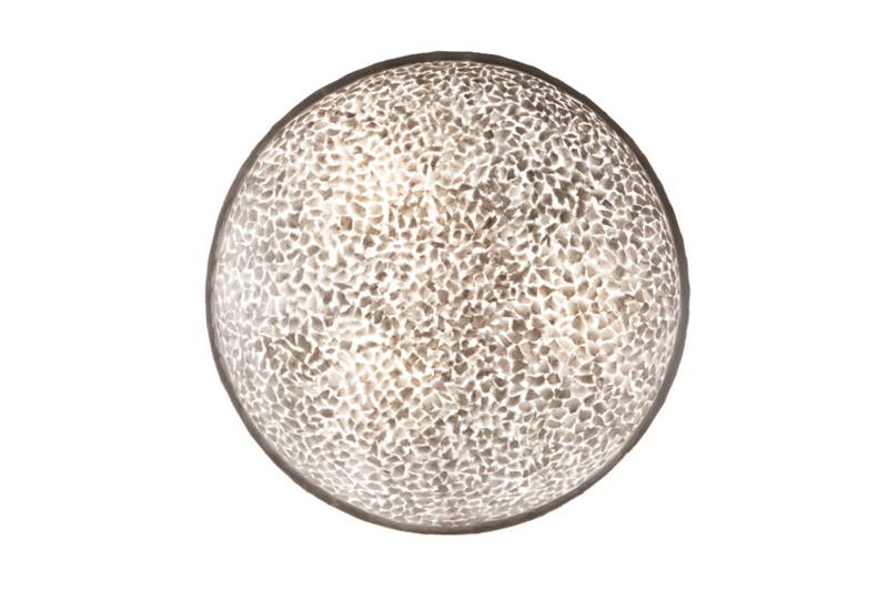 Wangi Wit - Wandlamp 60 cm