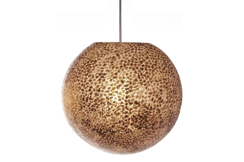 Wangi Goud - hanglamp bol 40 cm