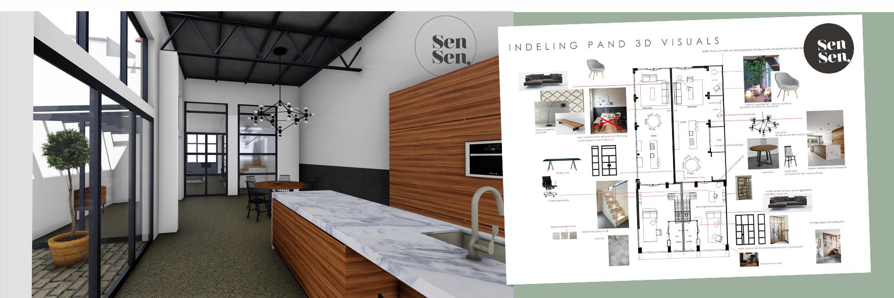 Verbouwingsadvies Lofts in Garagepand Sen Sen design