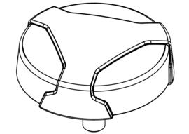 Handschroef Zwart - M8 x 1.25