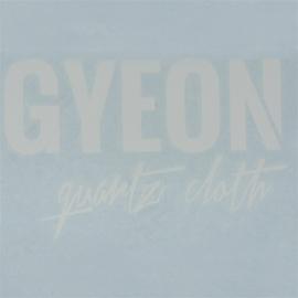 Gyeon - Gyeon Logo sticker wit - 16x10,5cm