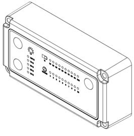 Toetsenbord met pcb voor NOVA 5K C+R