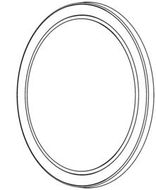 Lens / O-ring voor NOVA 6 SPS, NOVA 10 SPS & MULTIMATCH 8