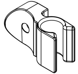 Clip voor kabel op SCANGRIP TRIPOD