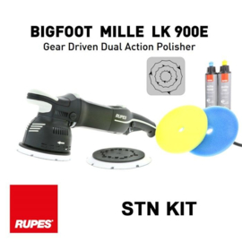 Rupes -  BigFoot - Mille LK 900E Gear Driven Dual Action Polisher - STN Kit