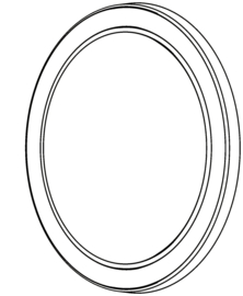 Lens / O-Ring voor NOVA 4 SPS & Multimatch 3