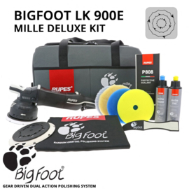 Rupes - BigFoot Mille LK 900E Gear Driven Dual Action Polisher DLX Kit