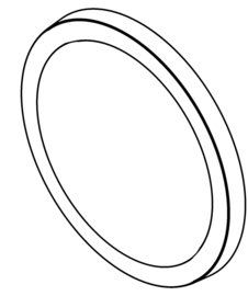 Lens / O-ring voor NOVA R