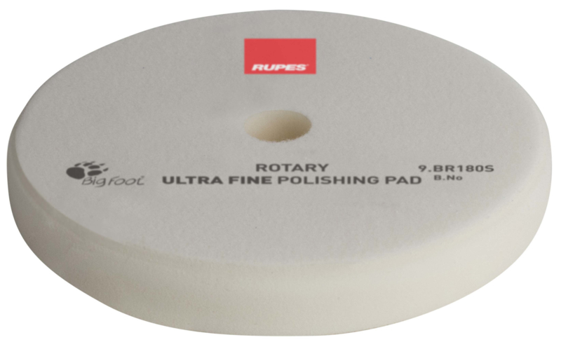 Rupes- White Rotary Extra Fine Polishing Pad