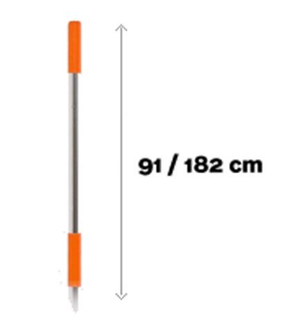 Telescopische steel 91cm - 182cm DM 454