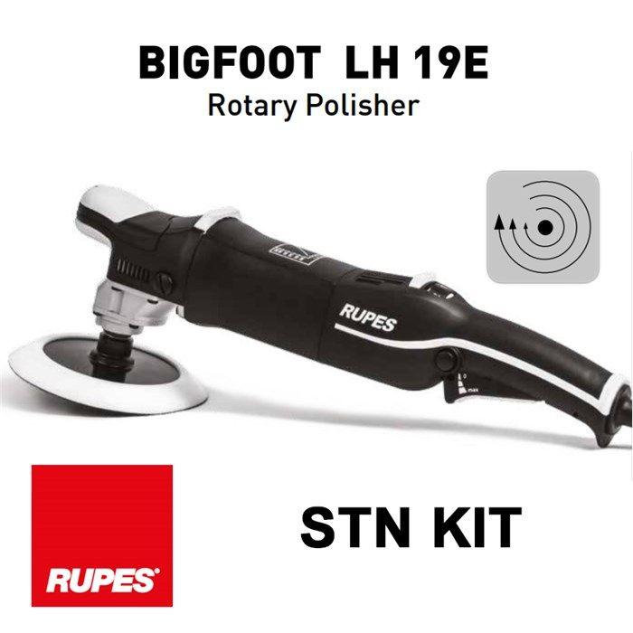 Rupes - BigFoot LH19E Rotary Polisher Kit - 1200watt