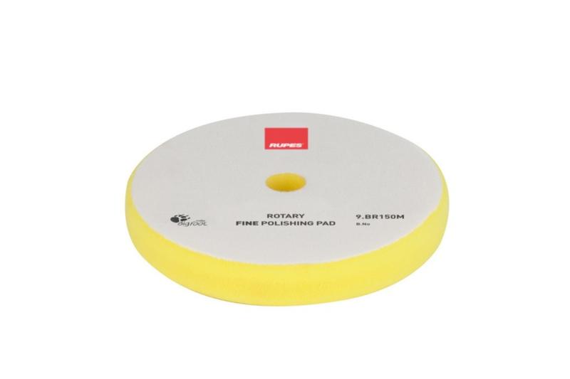 Rupes - Yellow Rotary Fine Polishing Pad (verschillende maten)