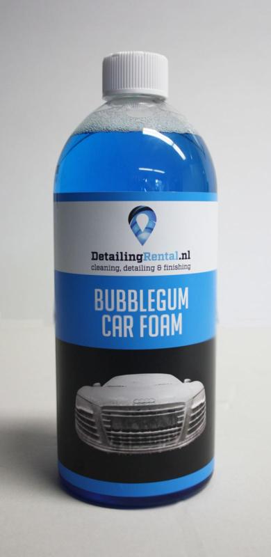 Bubblegum car foam