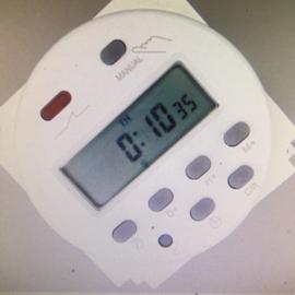 12 volt gelijkstroom timer schakelaar