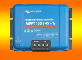 VICTRON laadregelaar Energy BlueSolar MPPT 150/45 150Volt / 45Amper schroefaansluiting