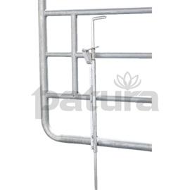 Vastzet pen verstelbaar hek
