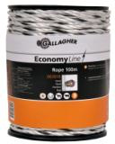 Gallagher EconomyLine koord wit 100m