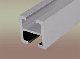 Aluminium profiel 28 x 28 mm, 2 meter