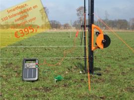 Smartfence, S10 solarapparaat en aardpen