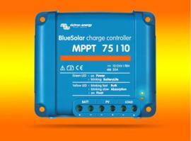 VICTRON laadregelaar Energy BlueSolar MPPT 75/10 voor 12V / 24V