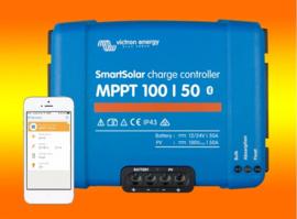 Victron Smartsolar MPPT laadregelaar 100/50 50Amper 12 of 24V inclusief Bluetooth